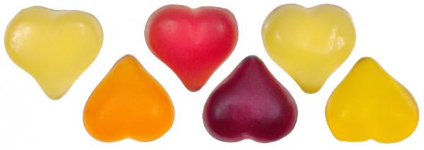Fruchtsaftherzen 12 Frucht