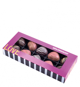 10er Box Love pink