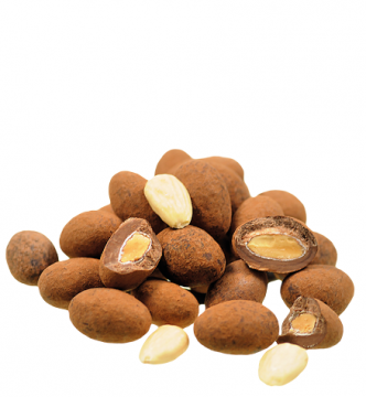 Sahne Kakao Mandeln