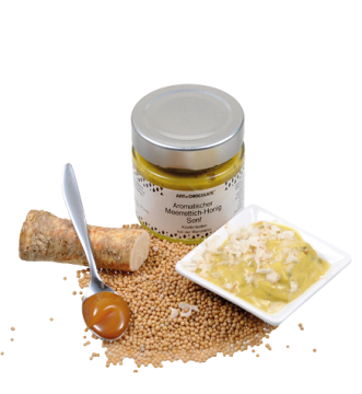#Meerettich-Honig Senf
