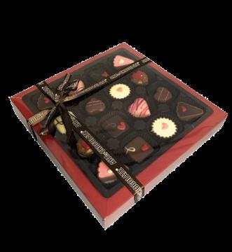 Pralinenmischung Valentin Box 16er