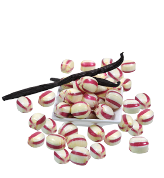 Bonbon Rhabarber Vanille *zuckerfrei* *v*