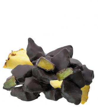 Ananas in Edelbitterschokolade *v*