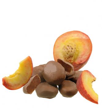 Aprikose in Vollmilchschokolade