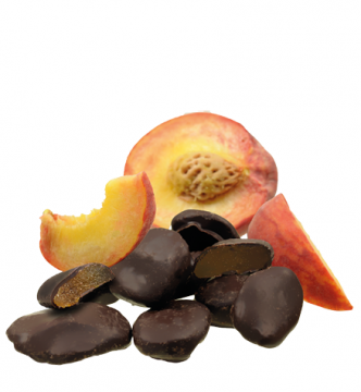 Aprikose in Edelbitterschokolade *v*