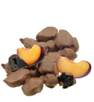 Pflaumen in Vollmilchschokolade