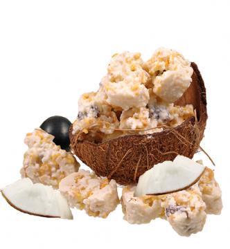 Knuspersplitter in weißer Schokolade