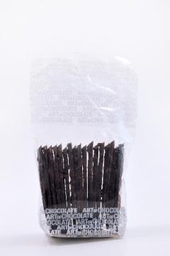 Schoko-Karamellblätter Edelbitter