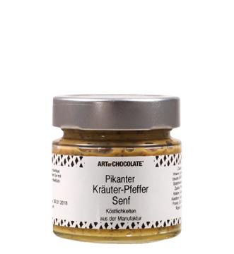 Pikanter Kräuter-Pfeffer Senf *v*
