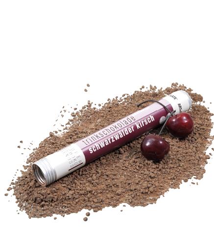 Trinkschokolade Schwarzwälder Kirsch -ARTofCHOCOLATE