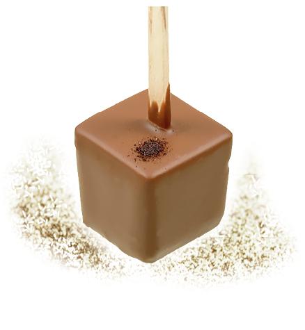 Trinkschokolade Latte Macchiato -ARTofCHOCOLATE