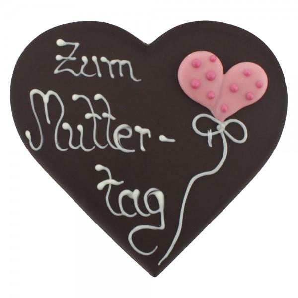 Beschriftetes Herz Edelbitter Zum Muttertag