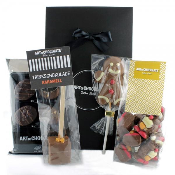 Art of Chocolate Weihnachtstasche klein gefüllt