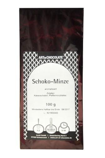 Tee Schoko-Minze