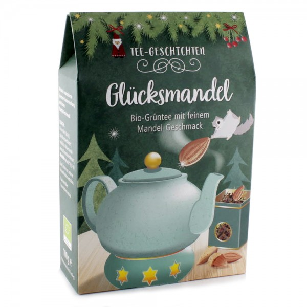 Tee Glücksmandel