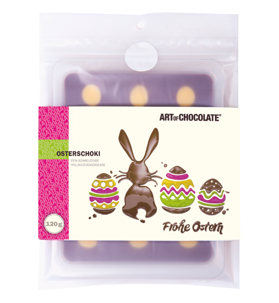 Frohe Ostern 120g Tafel