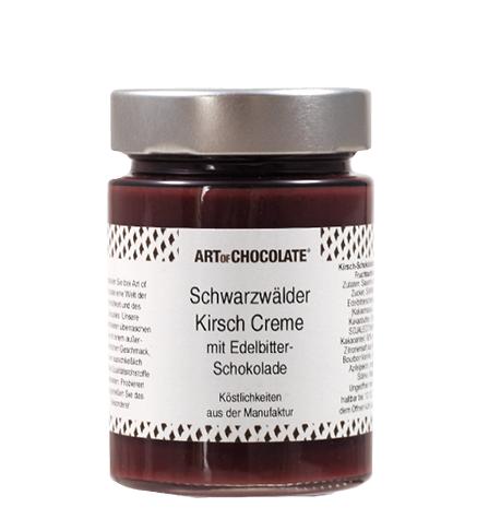 Fruchtaufstrich Kirsch Creme mit Edelbitter Schokolade