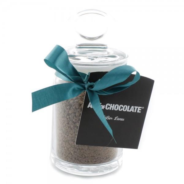 Trinkschokolade Brownie >Edelbitter< im Glas