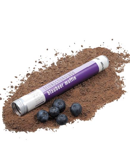 #ChocoTube Blaubeer Muffin >Edelbitter< *v*