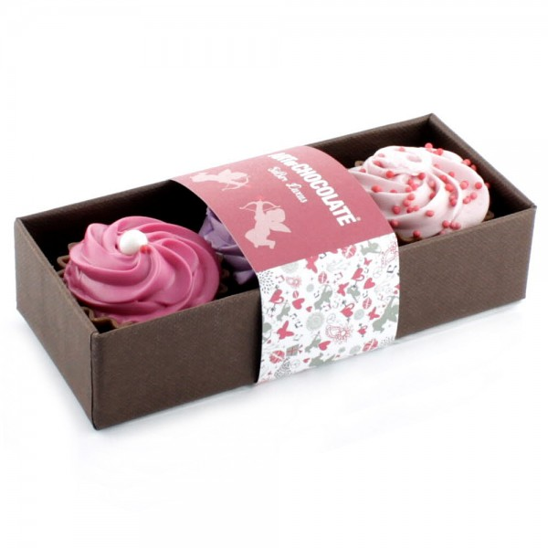 3er Stange Cup Cake LOVE